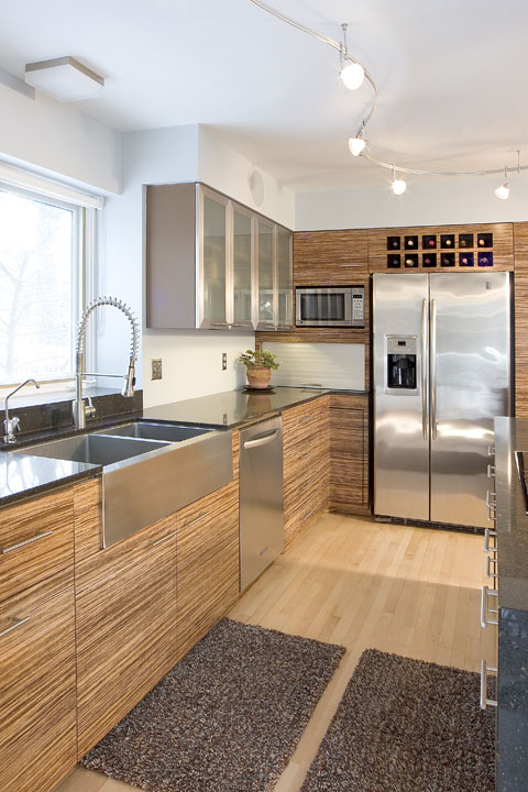 MetroHippie Bamboo kitchen design