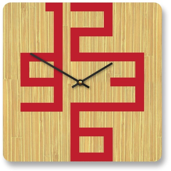 Cornell bamboo clock
