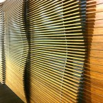 Bamboo cladding for restaurants