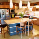 Bamboo kitchen cabinets and counter tops