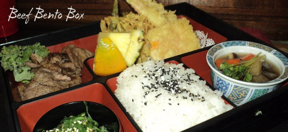 Bento Box with Beef