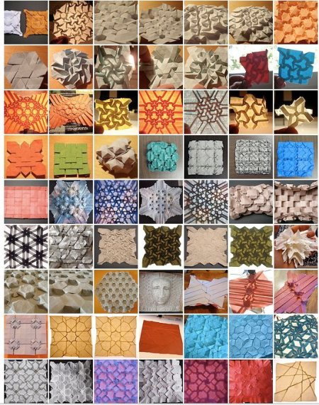 Origami Tessellation Photo Pool