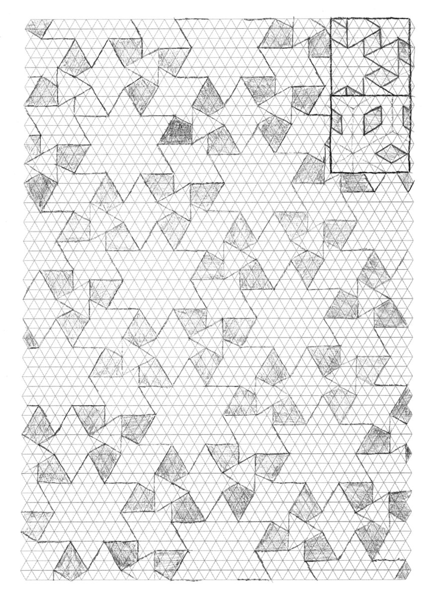 Thinking Sketches - 3.4.6.4 Waterbomb-Flagstone Tessellation