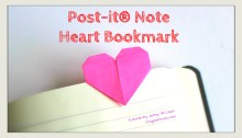 origami heart bookmark thumbnail