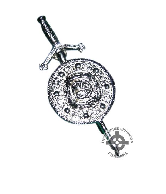 Celtic Shield Pin