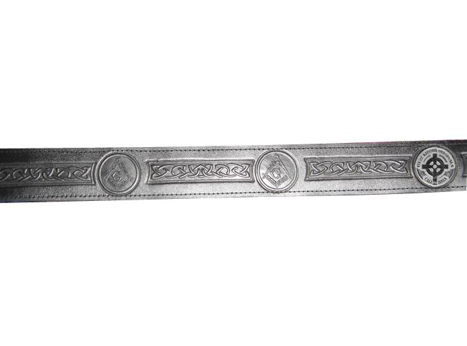 Masonic Buckle Belt