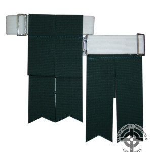 Dark Green Kilt Flashes