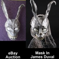 "Donnie Darko ""Frank"" Bunny Mask on eBay is NOT the Mask Seen in 2008 Original Prop Blog James Duval Interview"