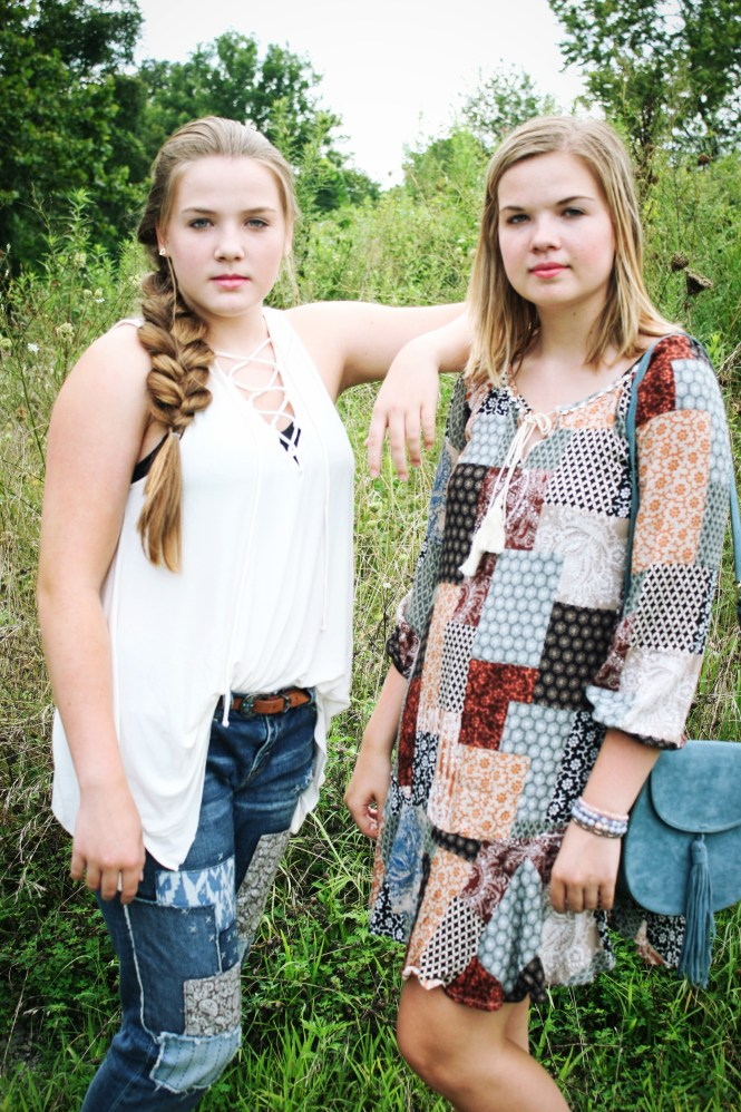 A Sister Is A Forever Friend--How We Style Patchwork Pieces In The Fall. Original Sam Smith