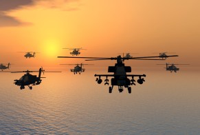 helicopters-in-sky