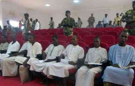Boko Haram fighters sentenced to death