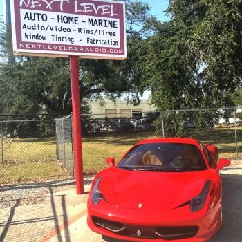 Ferrari radar detector