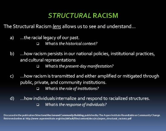 Structural Racism Lens - Aspen Institute