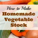 How to Make Homemade Vegetable Stock
