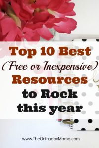 Top 10 Best (Free or Inexpensive) Resources to Help You Rock the New Year