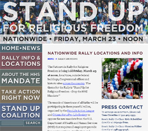 Nationwide Rally for Religious Freedom