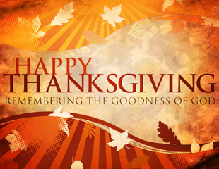 Gratitude and Grace at Thanksgiving Time Thanks to God