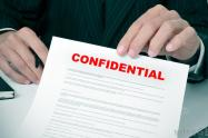confidential-heading-on-letter