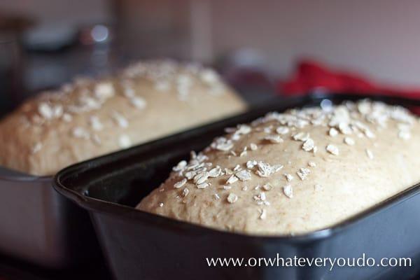 #Buttermilk Oatmeal #Bread #Recipe from OrWhateverYouDo.com