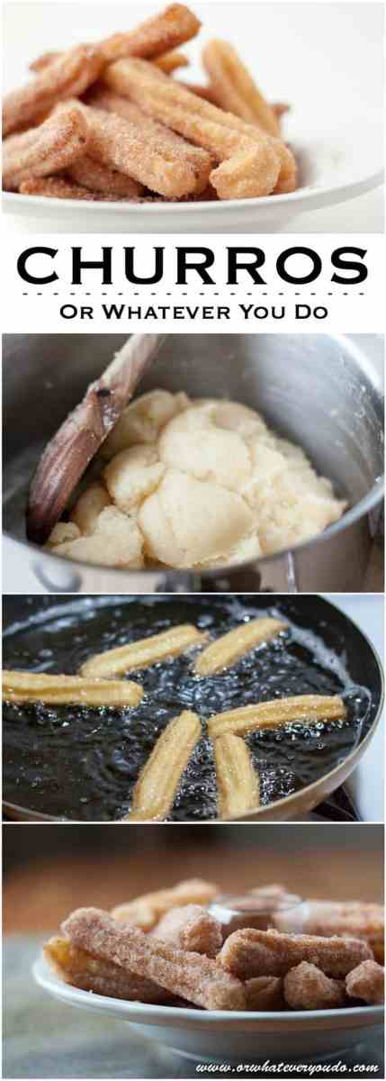 Crispy Soft Homemade Cinnamon Sugar Churros Recipe