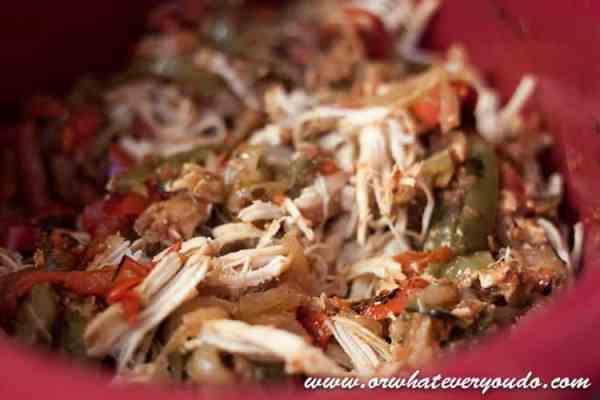 Easy CrockPot Fajita Chicken