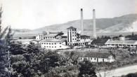 A usina em Sampaio Corrêa trouxe progresso para toda região até a década de 70, hoje é a lembrança viva pelas duas torres que permanecem de pé no local. (Foto: Arquivo Herivelto B. Pinheiro)