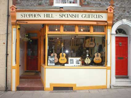 Stephen Hill's shop in Lewes 2002