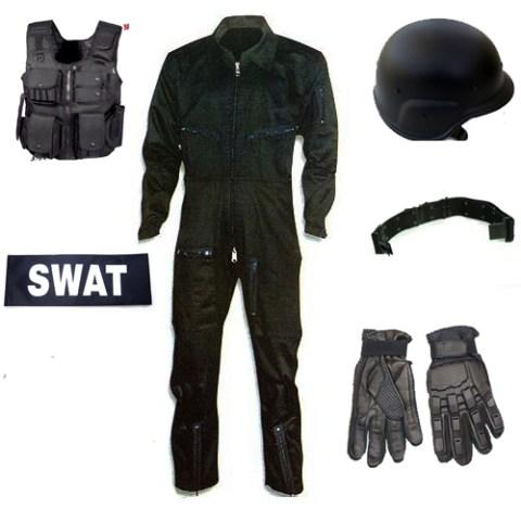 Traje táctico SWAT