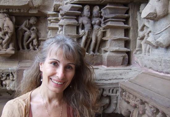 Sarita in Khajuraho