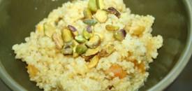 Millet with Apricots