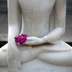 Buddha statue at the Meditation Resort Pune