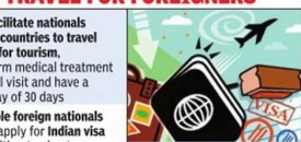 India Launches E-Visa for 43 Nations