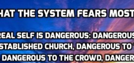 What The System Fears Most…
