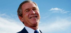 Bush counting down days until he is no longer worst president in history