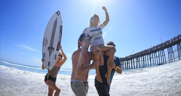 Coco Ho Wins Third Paul Mitchell Supergirl Pro Surf Title