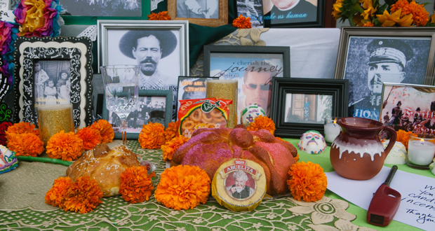 Mexican Bread of the Dead at Oceanside Dia de los Muertos