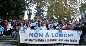 Ourense súmase ás protestas contra as reválidas da Lomce