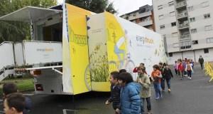 """O """"Energytruck"""" de Gas Natural Fenosa fai parada no Barco de Valdeorras"""
