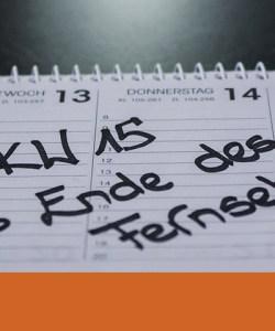 OSK Weekly Titel - Das Ende des Fernsehens