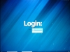Fedora 18 beta LXDE - Login screen