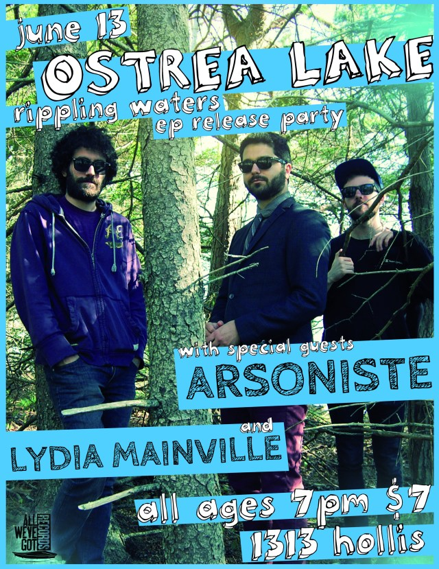 Ostrea Lake EP Release Party