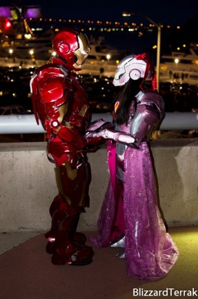 Iron Man Mk VII (Foam) and Iron Princess Mk
