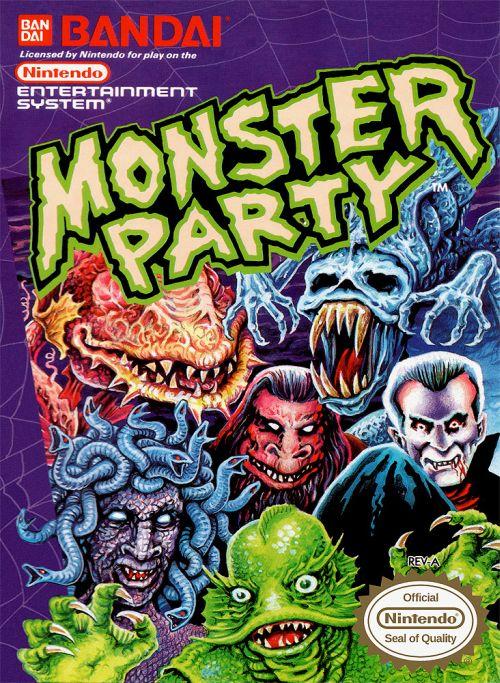 parody world monster party nes famicom Liberado Parody World: Monster Party de Nintendo Famicom