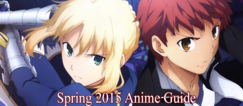 Spring 2015 Anime Guide