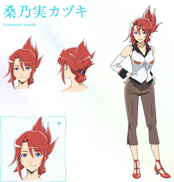 Character Design For Anime : New plastic memories visuals characters designs