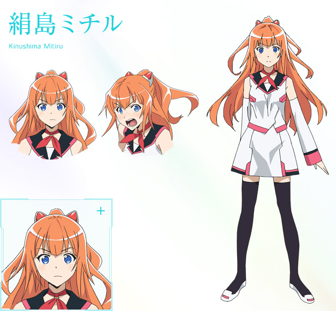 Good Character Design In Anime : New plastic memories visuals characters designs