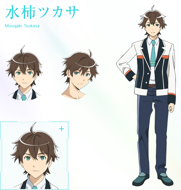 Anime Characters Jobs : New plastic memories visuals characters designs