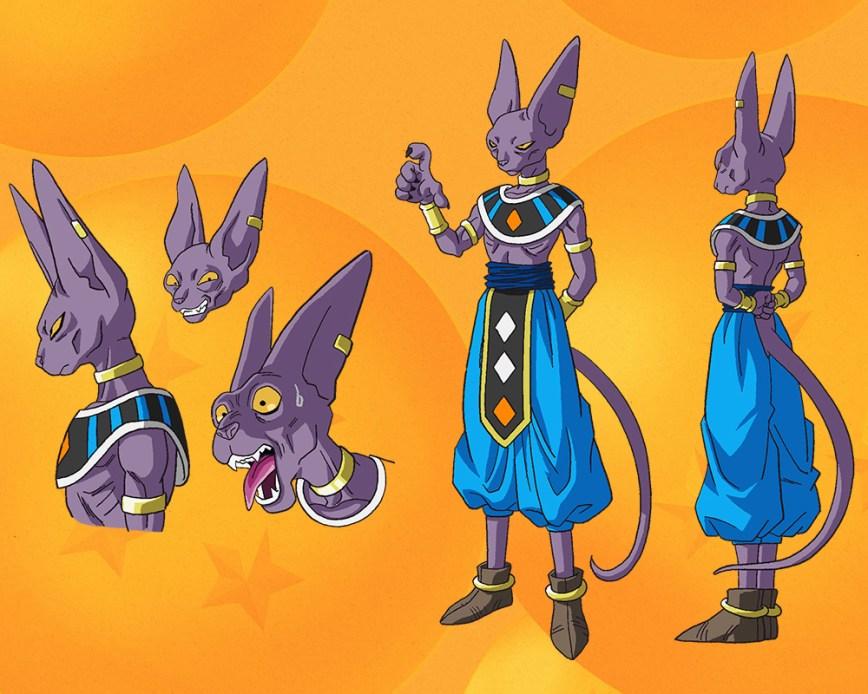 Character Design Dragon Ball Z : First dragon ball super visual character designs