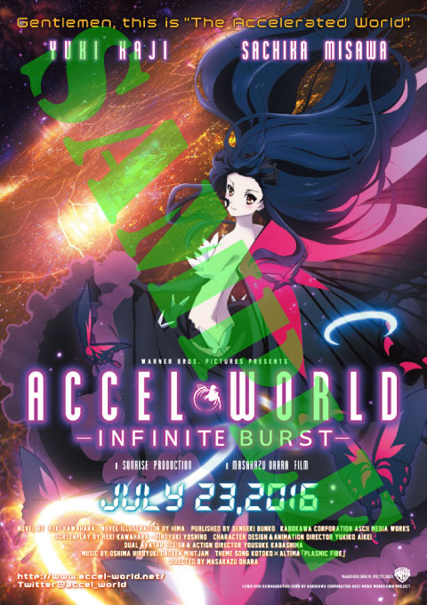 Latest Accel World -Infinite Burst- Visual Reveals New Character ...