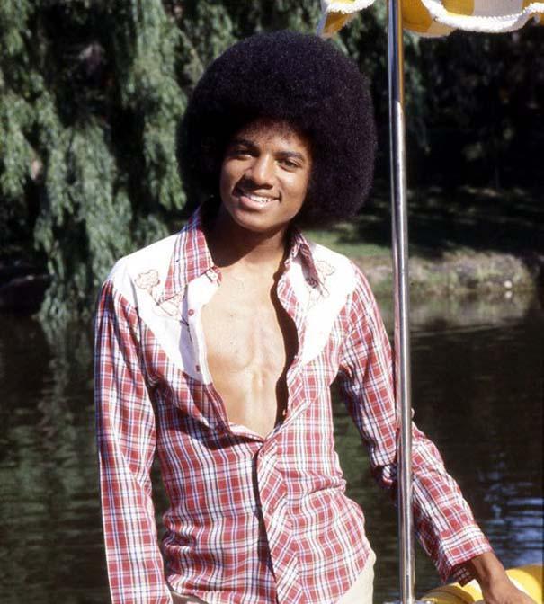 Οι αλλαγές στο πρόσωπο του Michael Jackson με το πέρασμα των χρόνων (2)